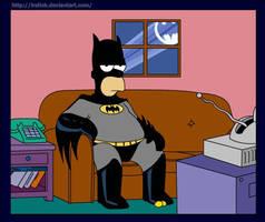 Bat Homer by lrslink