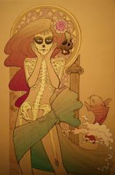 Little mermaid got her legs by AnaDalle