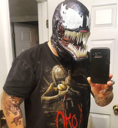 ULTIMATE VENOM MASK WITH MOVING JAW! by symbiote-x