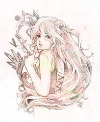 Girl Portrait - Commission by SakuraiChidori