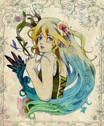 Girl Portrait - Revision by SakuraiChidori