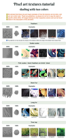 Pixel art tutorial - shading / textures + examples by UszatyArbuz