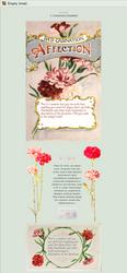 NON-CORE 'custom' box: Carnation by UszatyArbuz