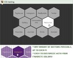Custom box: Hex button directory (CSS) by UszatyArbuz