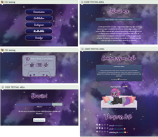Swimming through space profile page by UszatyArbuz
