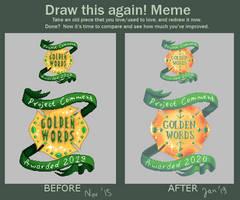 Draw this Again meme by UszatyArbuz