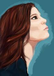 Practice Portrait by super-super-girl