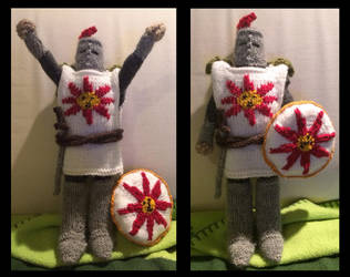 Knight Solaire by super-super-girl