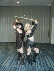 AZ Xena and Callisto by DavisJes