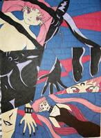 Black Lady Henshin by DavisJes