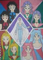 Lesser Known Manga Characters by DavisJes