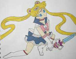 Princess Sailor Moon by DavisJes
