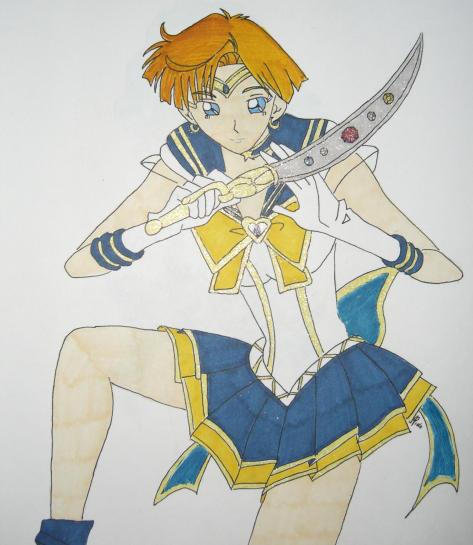 Sera Myu Sailor Uranus by DavisJes