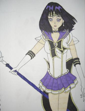 Sera Myu Sailor Saturn by DavisJes
