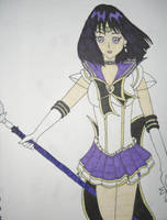 Sera Myu Sailor Saturn by DavisJes
