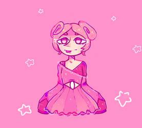 Pinku Not Winku by Crowsh
