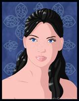 Kaytia portrait by Stormweaver-Arts