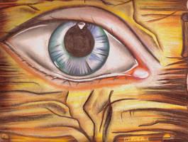 Parchment eye ll by kaldengel