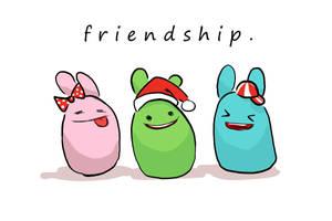 friendship. by rosesakura921