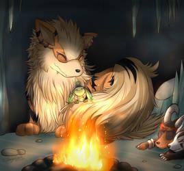 Fluffy Blanket by DragonEmpress666
