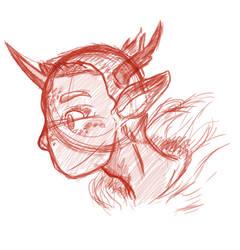 Kirin Boi Sketch by Jamie-is