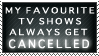Cancelled TV Shows Stamp by dgLari