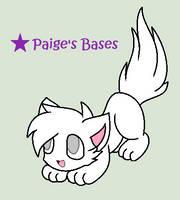 Playful Kitten Base by Paige-the-unicorn
