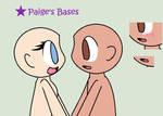 Kawaii Human couple base by Paige-the-unicorn