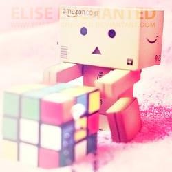 Rubiks cube by EliseEnchanted