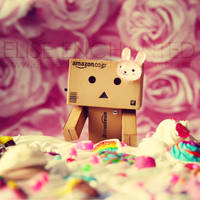 Danbo in Candyland by EliseEnchanted