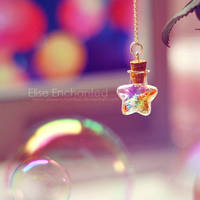 Bubbles and stars by EliseEnchanted