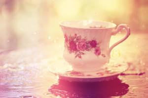 Afternoon tea by EliseEnchanted