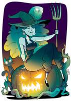 Witch by VirtualBarata