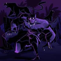 Black Panther by VirtualBarata