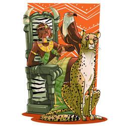 African Queen by VirtualBarata