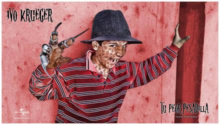 Krueger Poster by fabricioabella