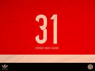 River Plate, 31 partidos by fabricioabella