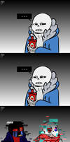 How long was Sans gone by HTF-ADTI-MLP100606