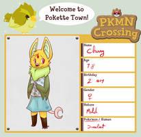 PKMN Crossing app - Cherry by blinding-eclips