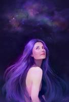 Gazing up the stars by CristinaDeElias