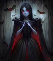 Vampire Girl by CristinaDeElias