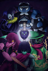 Delta Rune [WITH SPEEDPAINT] by BlackShadowDragon07