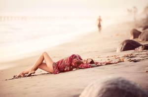 Sunbathing by JunKarlo