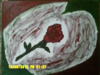 Rose Painting by romancewritereitak47