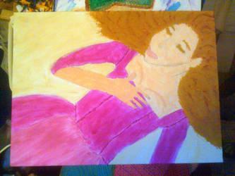 Resting Lady by romancewritereitak47