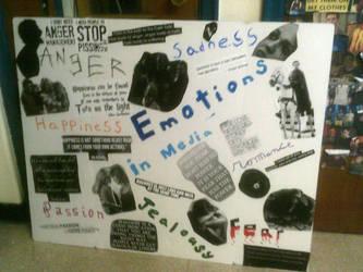 Emotions in Media Collage by romancewritereitak47