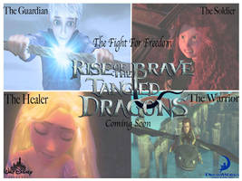 Rise of the Brave Tangled Dragons by SpargusCityAngel