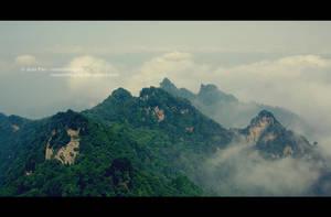 Wudang Mountain II, Hubei by JeanFan