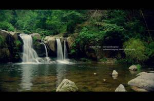 Lu Mountain Waterfall, Jiangxi by JeanFan