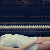 old piano by JeanFan